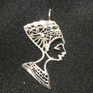Jewelry - Sterling NEPHRATITY Pendant.